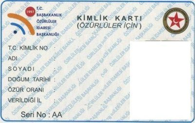 basbakanlik engelli karti resmi - Izmir engelli kent kart ile toplu ula��mdan yararlanamayacak m�y�z?