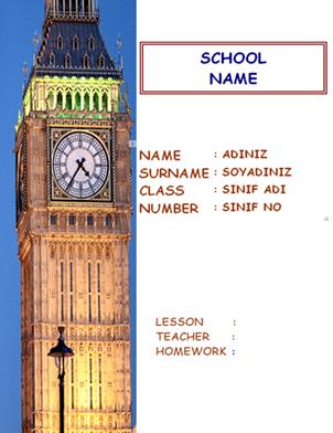 Ingilizce ödev Kapaklari Ingilizce ödev Kapak örnekleri Ingilizce